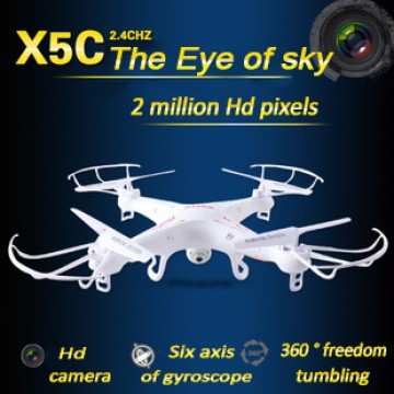 X5C Syma drone Explorers 2.4G 4CH rc airplane 4ch rc Quadcopter With HD Camera LCD Drone RTF 2G with Light&X5 no camera edition32301566797