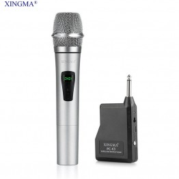 XINGMA PC-K3 Microphone Wireless Professional Dynamic Microphone Karaoke Uhf With Receiver For Syste Recording Studio Player KTV