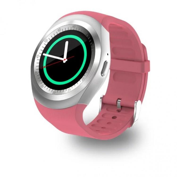 Y1 Smart Watch Round Support Nano SIM &TF Card With Bluetooth 3.0 ...