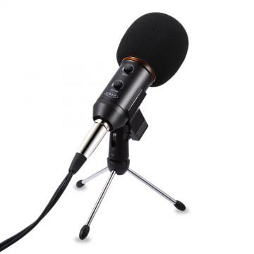 YALI MK-F200FL Audio Sound Recording Condenser Microphone with Shock Mount Holder Clip with locking knob 3.5mm aux jack32664261997