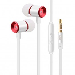 YPZ-K6 Hot Sale High Quality  In-Ear 3.5mm Metal Earphones Super Bass headset With Mic For IPhone 5 5S  6 Plus Samsung MP3
