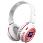ZEALOT B570 Stereo Wireless Bluetooth Headphone HiFi Headset With Microphone LCD Screen FM Radio Micro-SD Slot