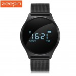 Zeepin M7 Round Bluetooth Smart Watch Waterproof Blood Pressure Monitor Heart Rate Monitor Sport Smart Wristband for Android IOS